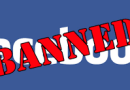 I'm banned from Facebook again … after only a few days!!
