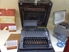 Enigma machine at Ralph Simpson's Cipher History Museum