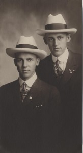 Howard and Lyndon Seefred