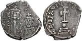 Byzantine Emperor Constans II Pogonatus (630-68)