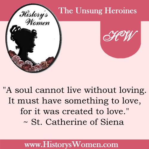 A Quote by Catherine Of Siena from HistorysWomen.com