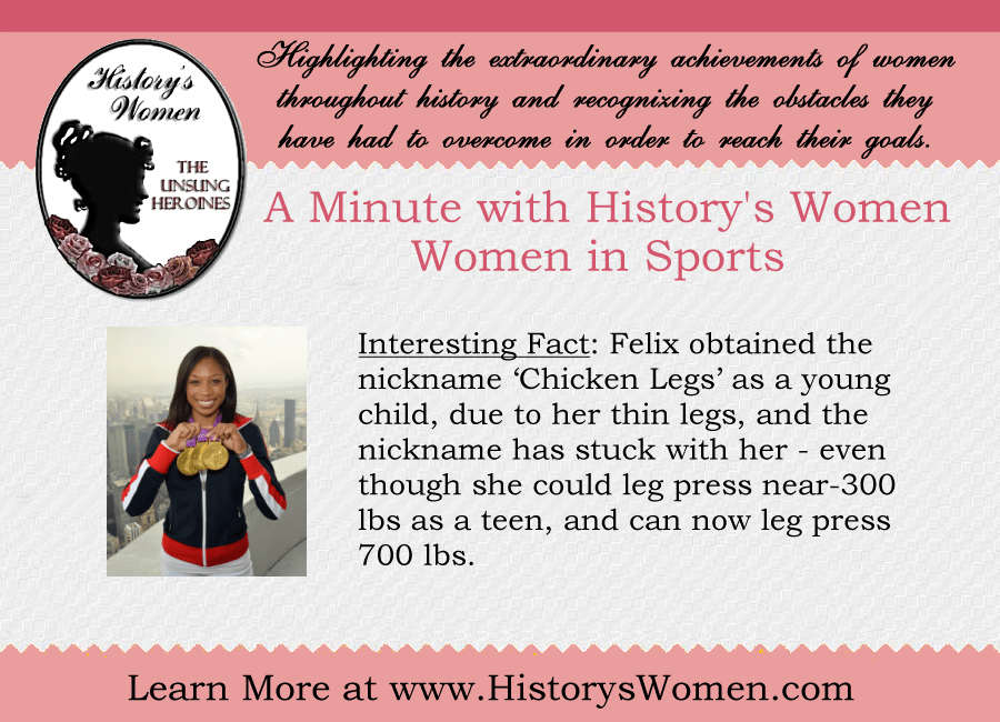 A Minute with Allyson Felix