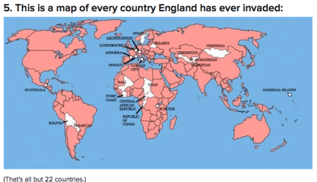 england invades