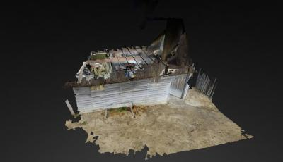 Pilgrim Villager House 3D Model