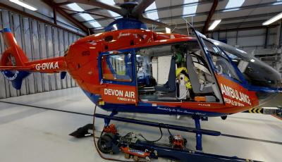 Air Ambulance Eurocopter EC135