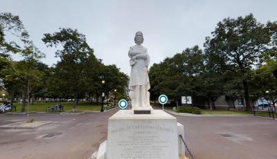 Christopher Columbus Monument 3D Model