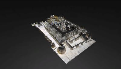 Shittaung Pagoda 3D Model