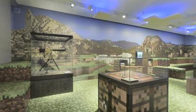 Auckland Museum: Gallipoli in Minecraft