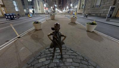 Fearless Girl versus Charging Bull