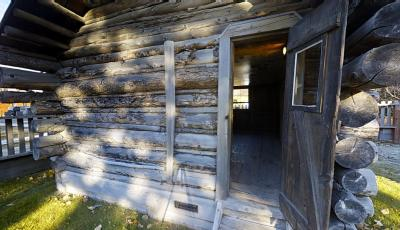 Klondike Gold Rush National Historical Park | Moore Cabin 3D Model