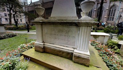 Alexander Hamilton's Grave 3D Model