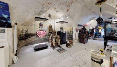 Diving Museum 3D Model