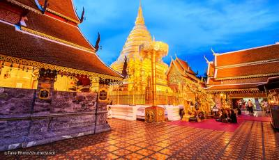 Chiang Mai & Pai, Thailand 3D Model