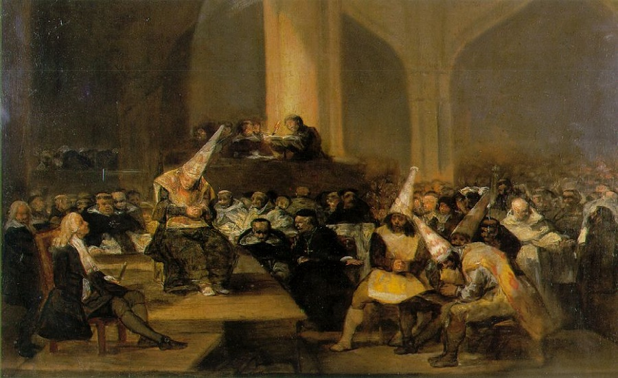 Inquisition by Goya