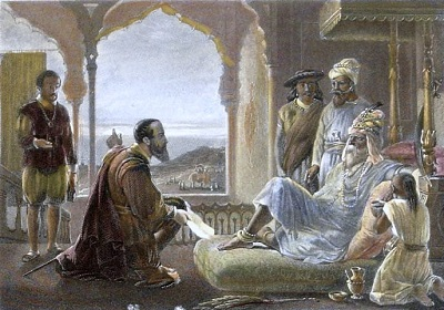 Vasco da Gama Meets The Zamorin