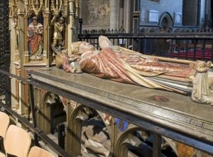 Thomas Becket's Tomb in Canterbury Cathedral