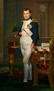 Napoleon in 1811. Public domain image from Wikipedia.