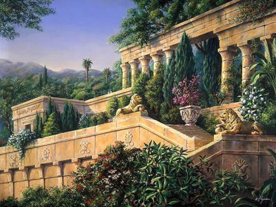 The Hanging Gardens of Babylon Source Unknown