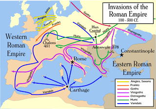 Invasions of Roman Empire