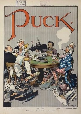 Puck Naval-race-1909