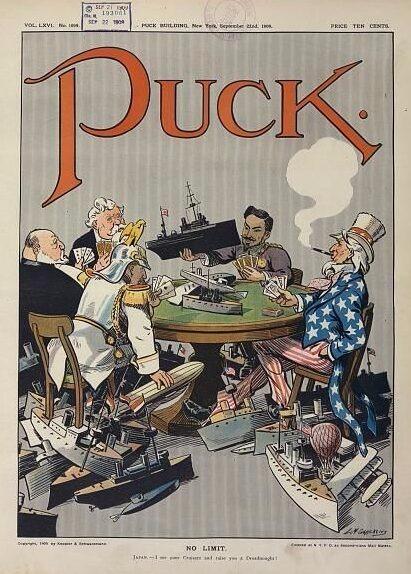 Puck Magazine 1909