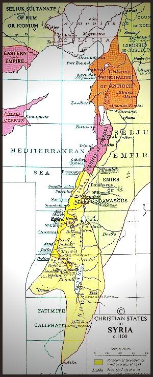 Palestine 1100 AD
