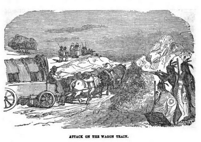 Attack on the Wagon Train