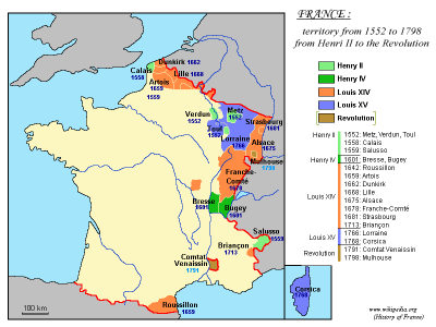 France 1552-1798