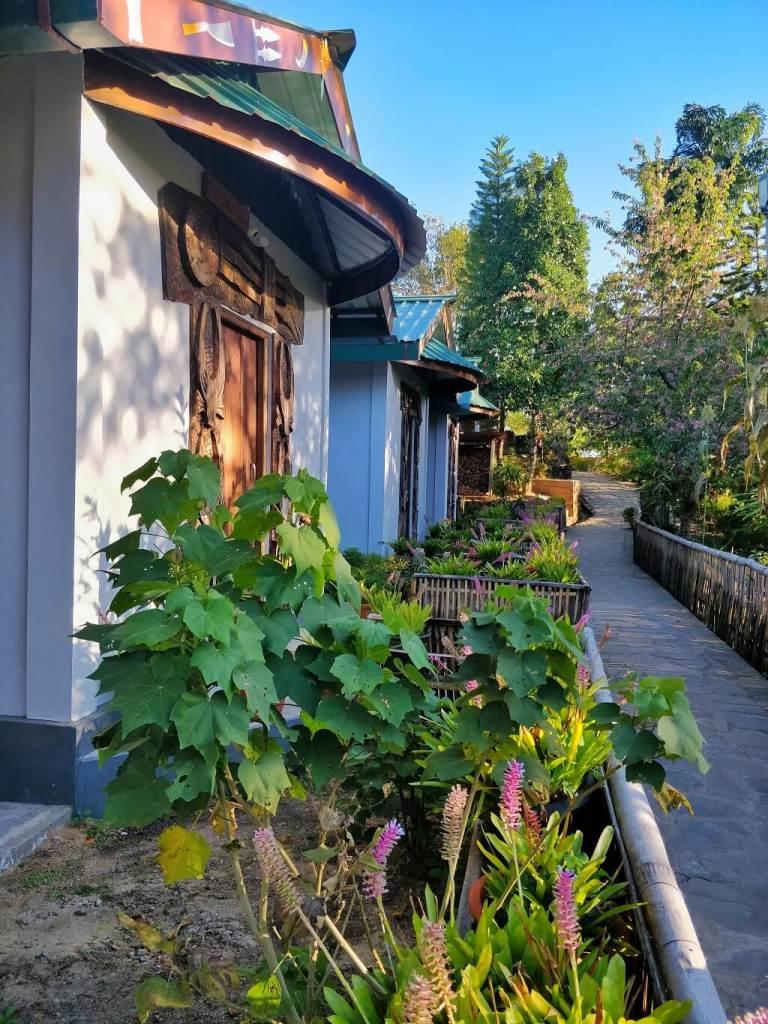 Angami style hut