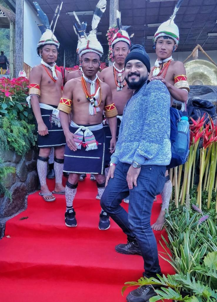 With the Zeliang tribe - Hornbill Festival 2019