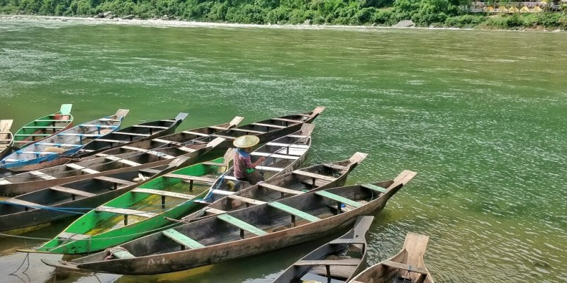 Shnongpdeng is a quiet fishing village - Adventure India