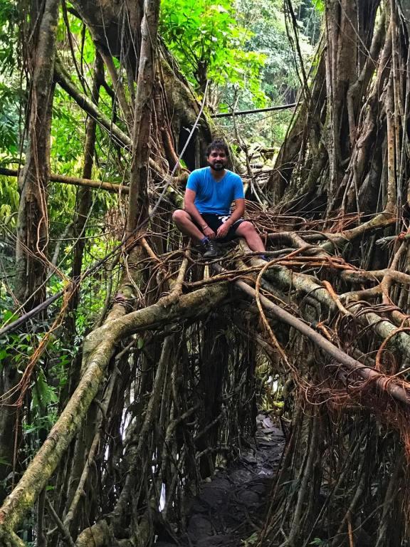Treks in India - Kudengrim living root bridge