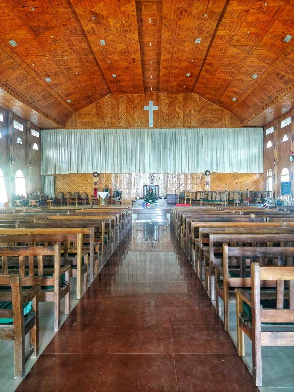 Shirui Baptist Church - Inside