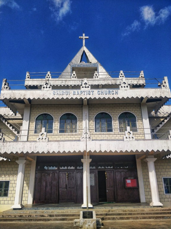 Shirui Baptist Church in Ukhrul
