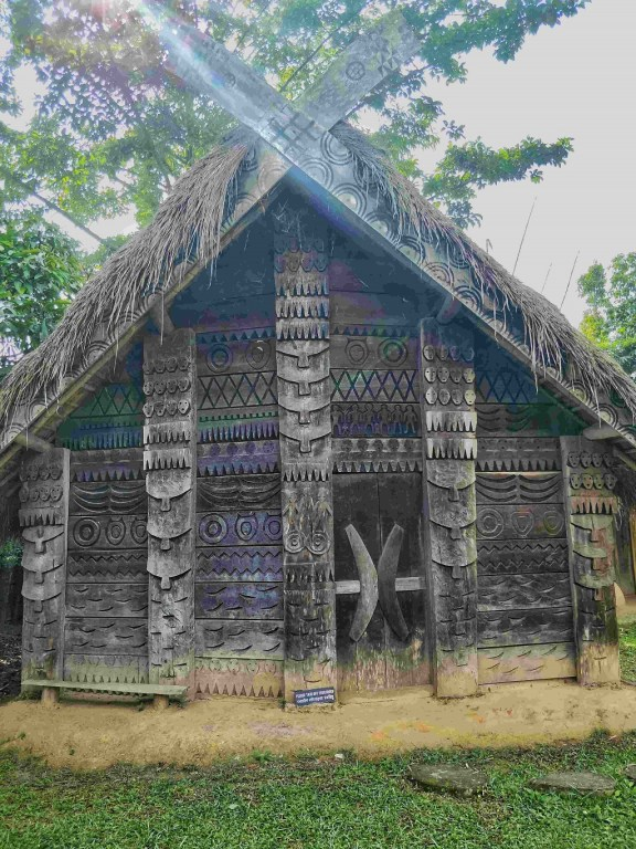 A Tangkhul model house