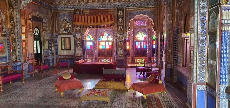 Mehrangarh Fort - Takhat Vilas Maharaja Takhat Singh's Chamber Room