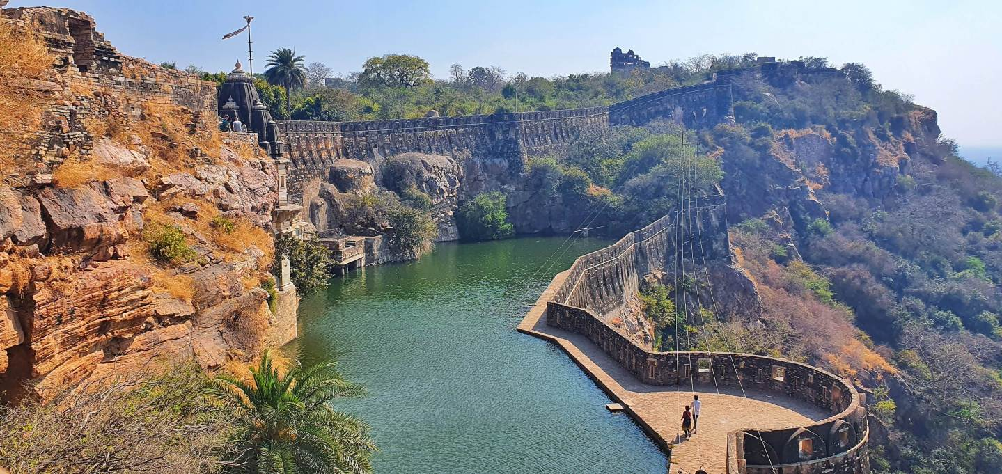 Places to Visit in Chittorgarh - Gaumukh Reservoir
