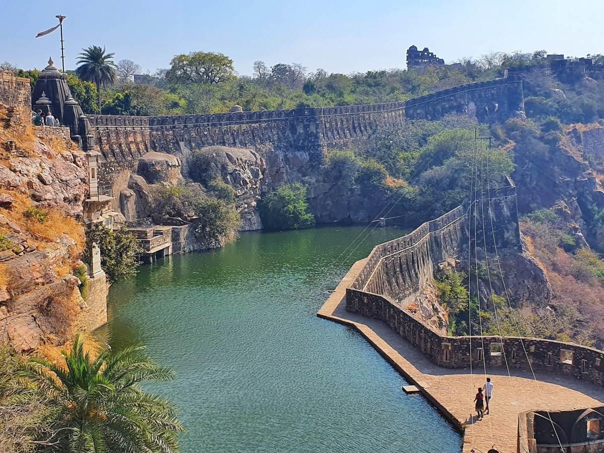Places to Visit in Chittorgarh - Gaumukh Reservoir
