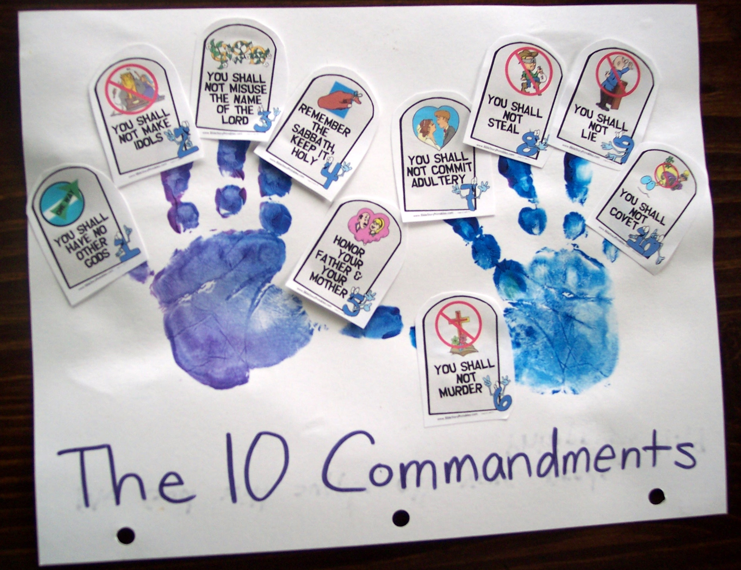 Train Up A Child 10 Commandments Pt 2