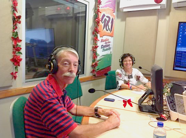 Debra and Phillip On-the-Air!