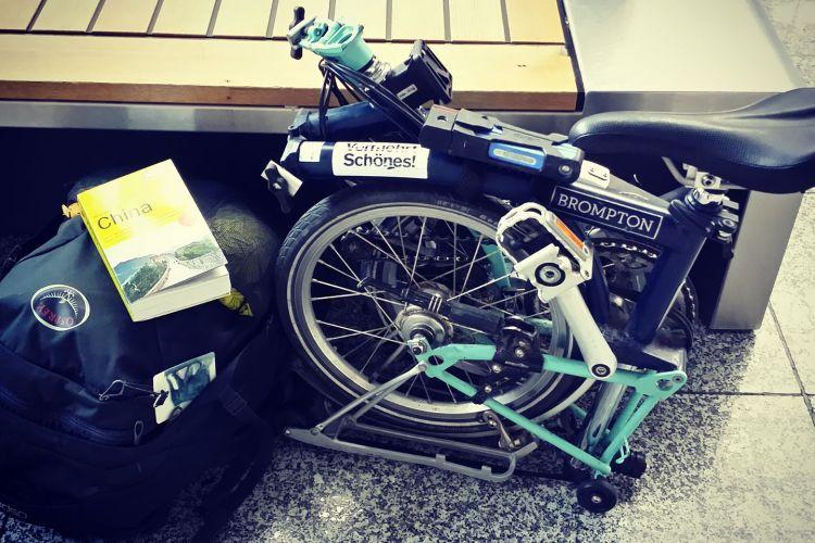 Reise mit dem Faltrad, Radreise, Vor- und Nachteile, mit dem Rad auf Reisen