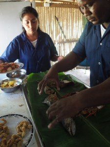 Panama Küche, Rezept Panama, Hai gericht, Gericht Panama, Haifisch, Meeresfrüchte, Karibik Gericht