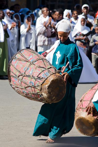 Timkat-Fest in Gonder