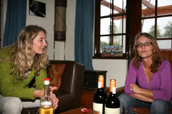 Maike und Christiane