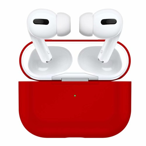 купить чехол на airpods pro красный
