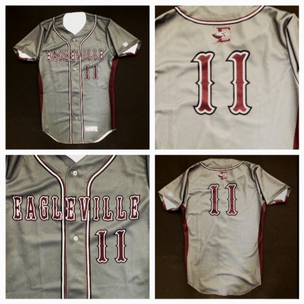 Eagleville Custom Jersey Button-Up (Style 1)
