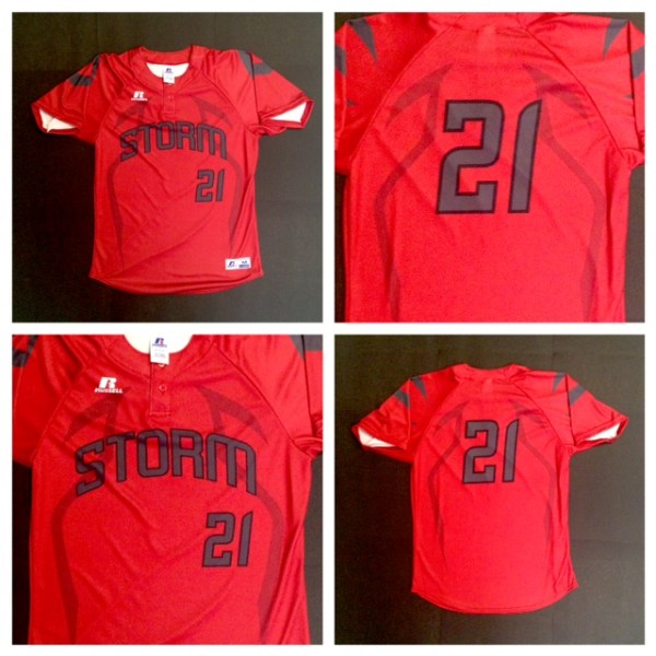 Storms Custom Jersey Pull-Over (Style 2)