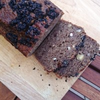 Coffee Hazelnut Loaf With Chocolate Hemp Crust
