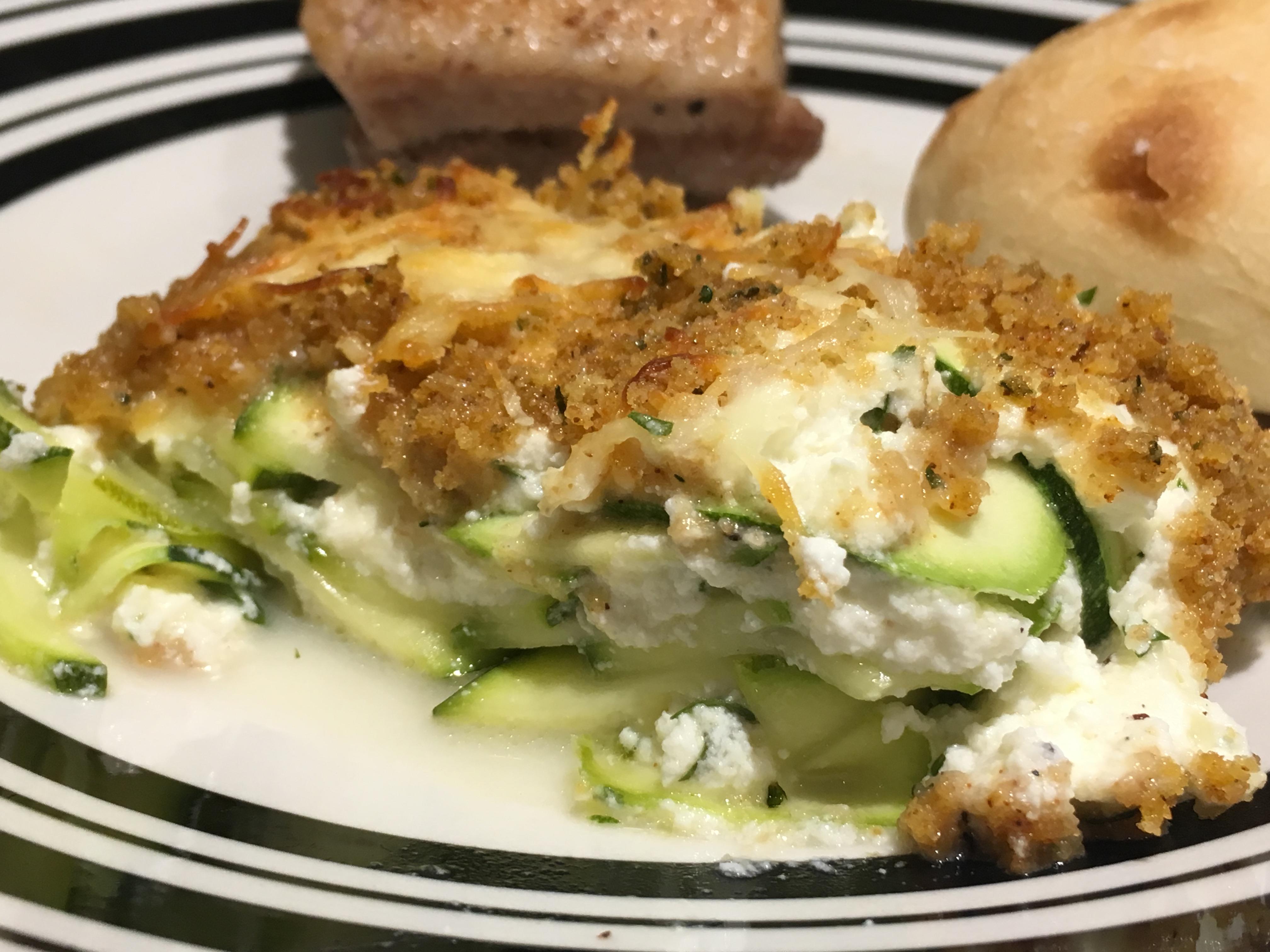 Zucchini Lasagna-Like Casserole