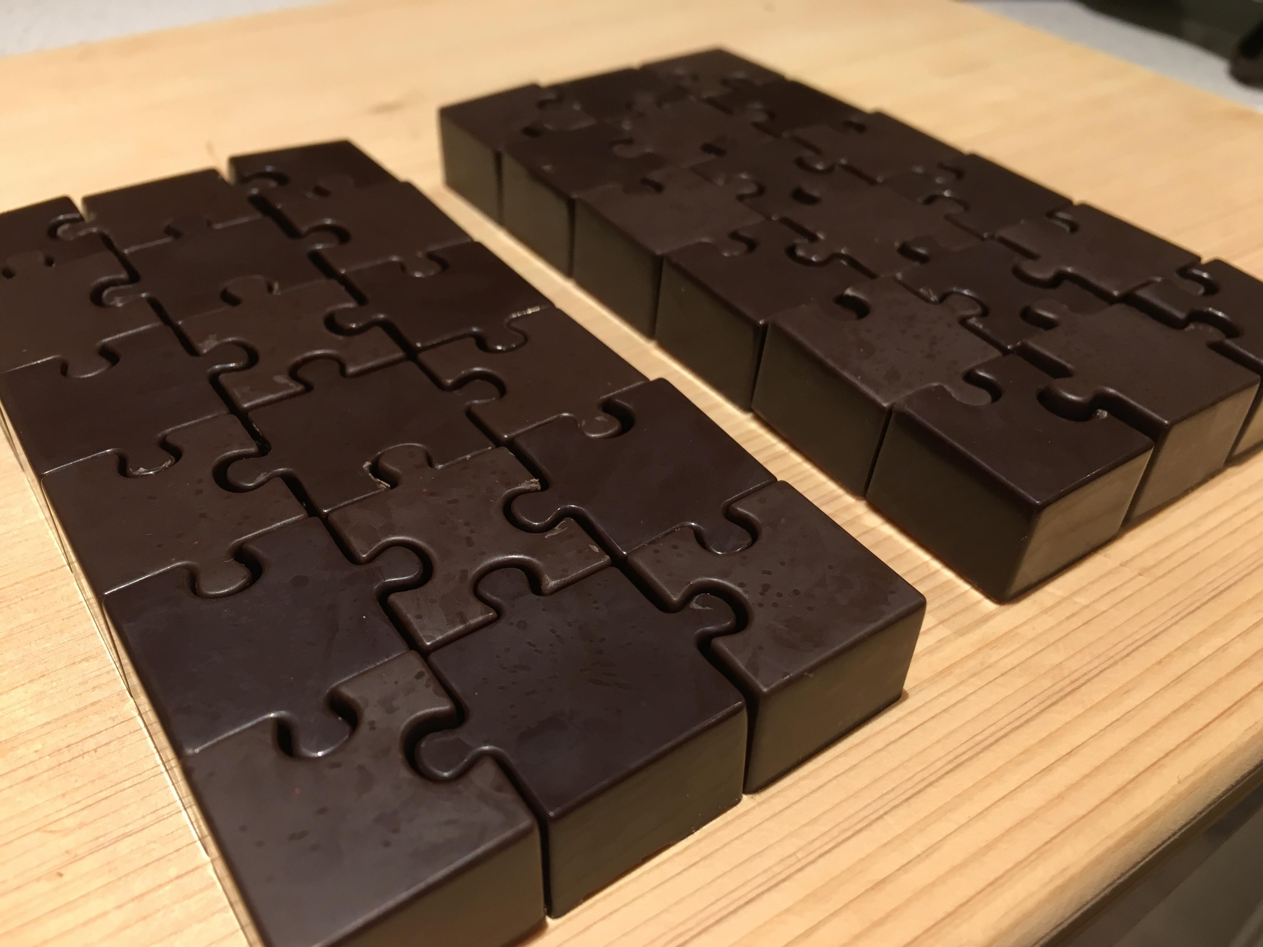 Homemade Three Ingredient Dark Chocolate
